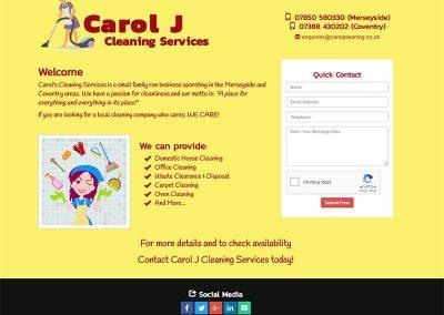 Carol J Cleaning