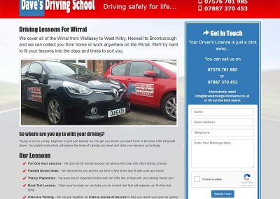 Dave's Driving School Wirral