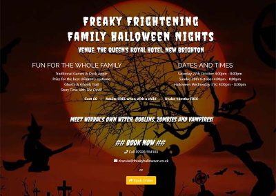 Freaky Frightening Halloween Nights