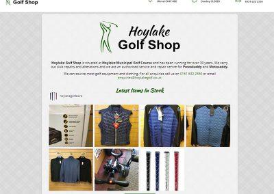 Hoylake Golf Shop