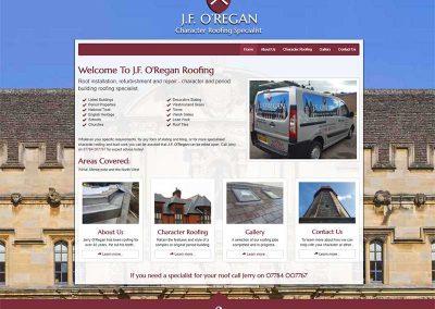 JF O'Regan Roofing