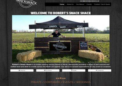 Robert's Snack Shack Is In Business!